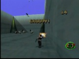 Hidden Earthworm Jim room in MDK (PS1)